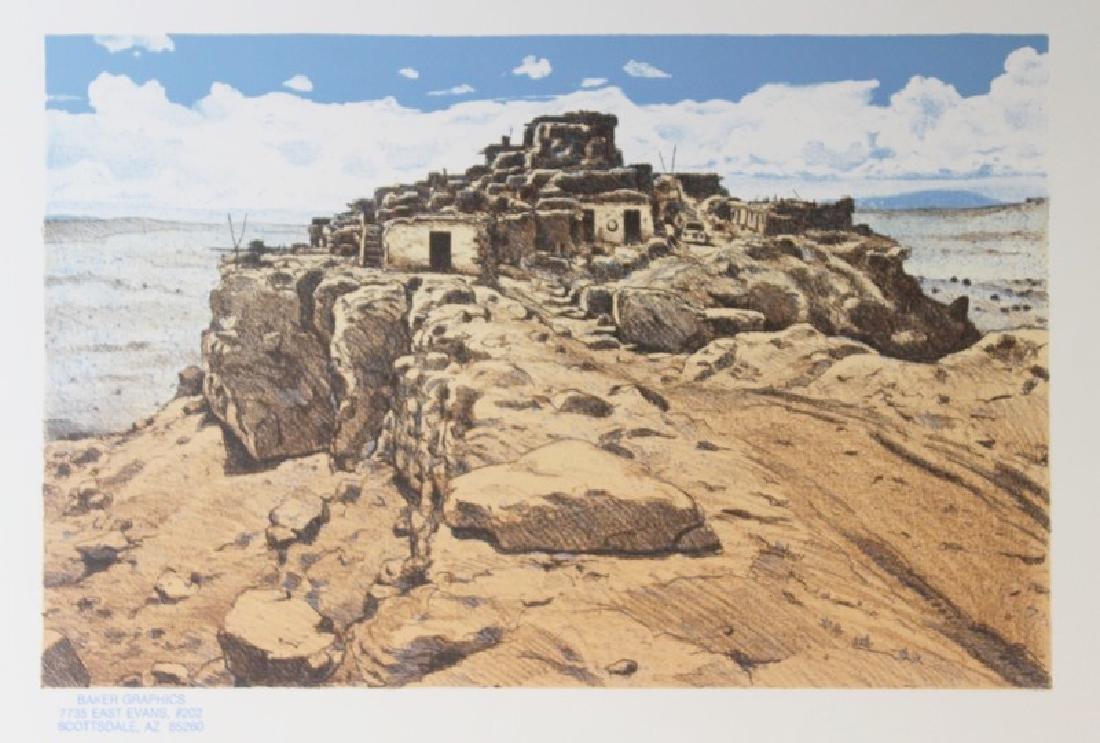 Fine Art Serigraph Hilltop Reservation