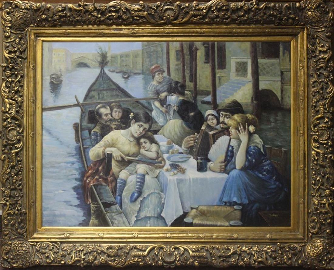 Fine Dining in Venice  by J. Stevens