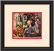 Woman of Algiers-Pablo Picasso