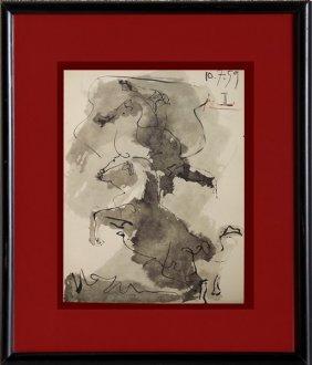 Toros Y Toreros (13a) - Picasso 1959'