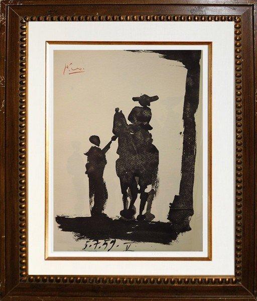 Toros y Toreros (8a) - Picasso 1959'