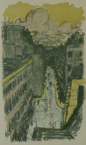 Rue Vue D'en Haut - Pierre Bonnard