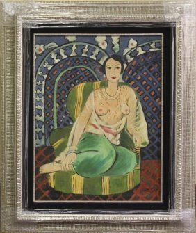 Portrait - Oil Painting By Henri Matisse