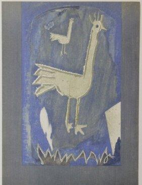 Frontice Piece, Verve 1952 - G. Braque