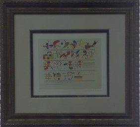 Succession - 1935' Wassily Kandinsky