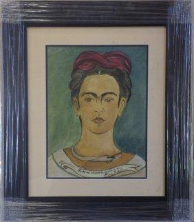 Oil Painting - Frida Kahlo 1940'