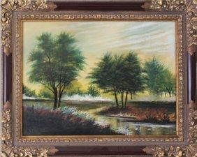 Landscape - Original By William Verdult