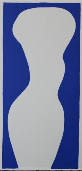 Form, White Torso (jazz) - Henri Matisse