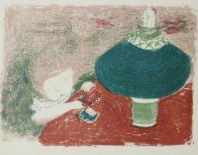 L'enfant A La Lampe 1897' - P. Bonnard