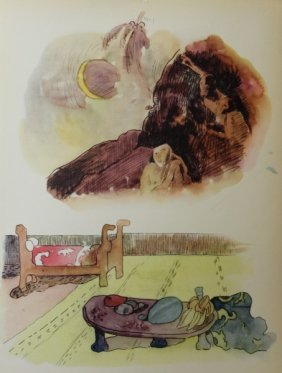 Watercolors 37-38 By Paul Gauguin