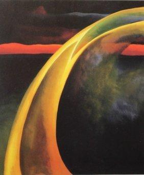 Red & Orange Streak 1919 - G. O'keeffe