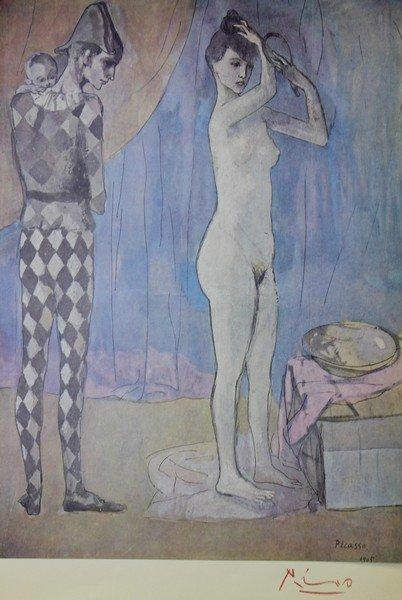 Harlequin's Family 1905' - Pablo Picasso