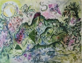 Composition - Marc Chagall
