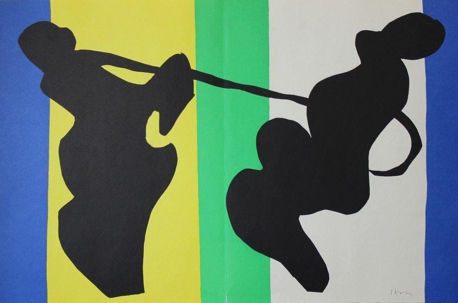 La Cow-Boy (Jazz) - Henri Matisse