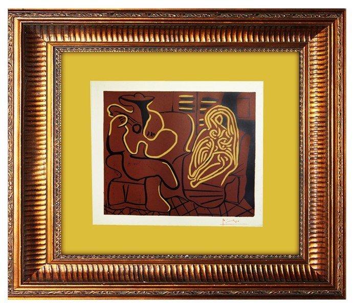 Fauteuil et Guitariste - Pablo Picasso