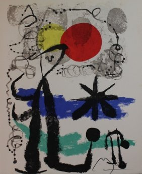 Sad Traveller 1955' - Joan Miro