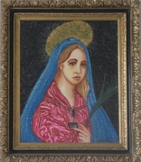 Weeping Mary Of God By Wm Verdult