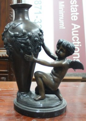 Bronze Sculpture After Auguste Moreau