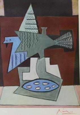 L'oiseau Blesse 1921 - Pablo Picasso