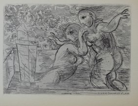 Les Baigneuses Surprises - Pablo Picasso