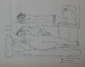 Le Repose Du Sculpteur, Ii - Pablo Picasso
