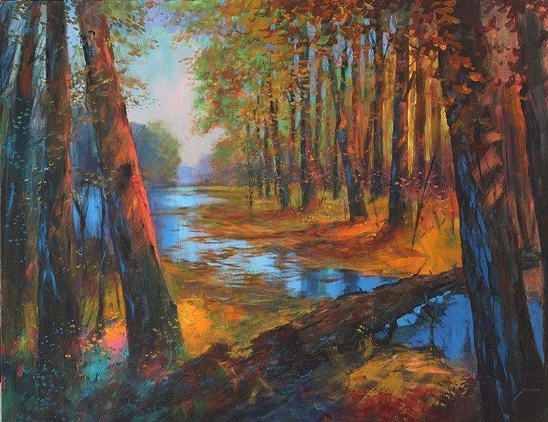Nature's Bridge-Michael Schofield 48x60