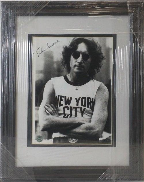 John Lennon - Authentic Signed Photo