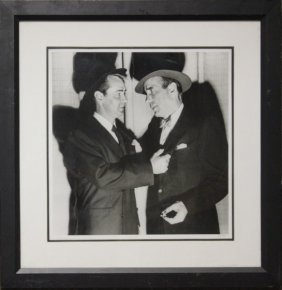 Humphrey Bogart & Adam Ladd