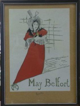 May Belfort - Toulous Lautrec