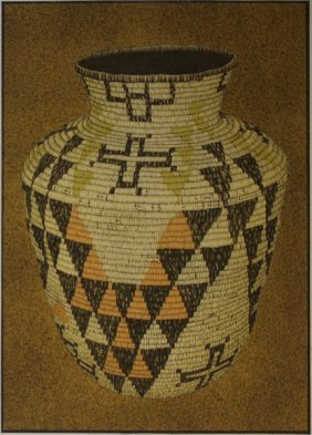 Apache Basket By Lynn Elton Baber