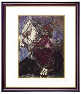 Toros Y Toreros P.39 - Picasso 1959'