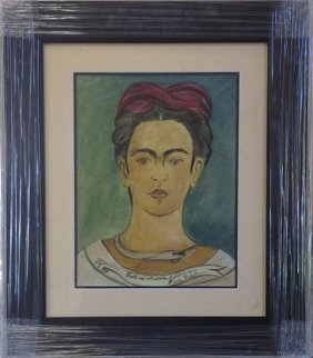 Oil Painting - Frida Kahlo 1940'