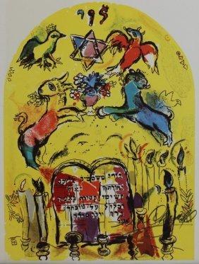 Levi, Windows Of Jerusalem -marc Chagall