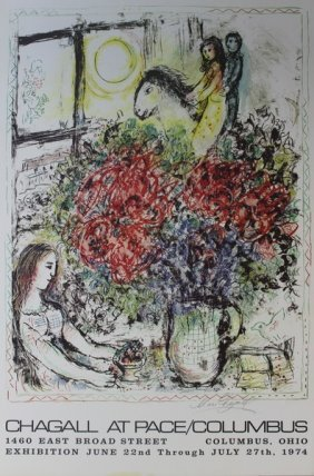 At Pace/columbus - Marc Chagall 74'