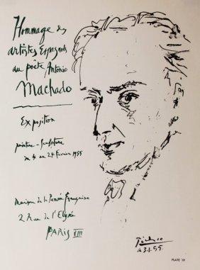 Homage De Antonio Machado - Picasso