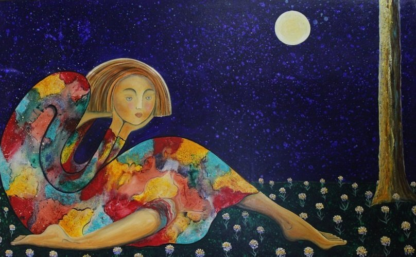 Tanya's Moon- Original by Gaylord S