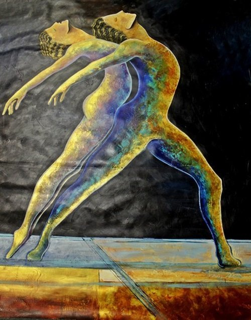The Dance by Gaylord Soli (72x48)