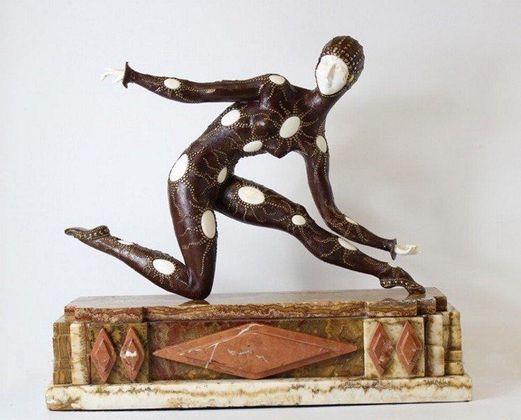 Leotard - Sculpture after D.H. Chiparus