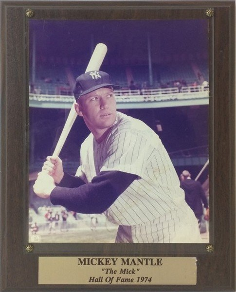 Mickey Mantle - Signed Photograph