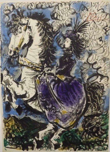 Toros y Toreros p.37 - Picasso 1959' - 2