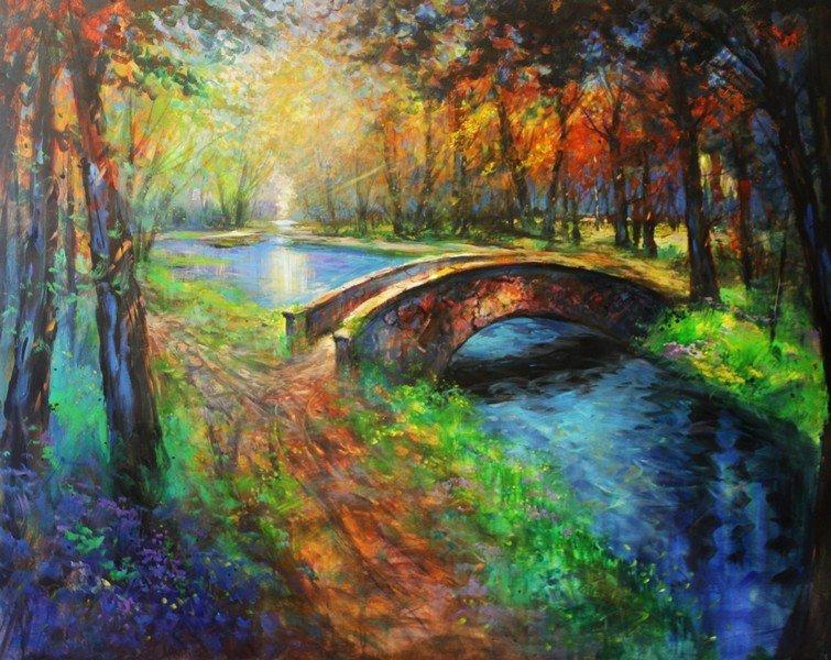 Nature's Harmony-Michael Schofield 48x60