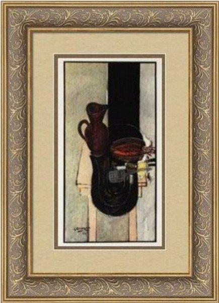 Still Life w/ Pitcher - Georges Braque