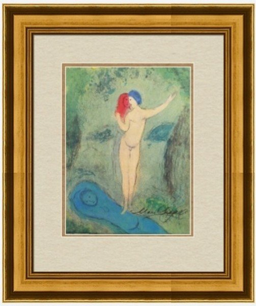 Lithograph by Marc Chagall