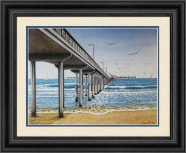 Daytime Pier by David Linton