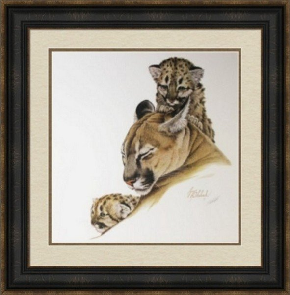 Couger and Cubs by Doheleech
