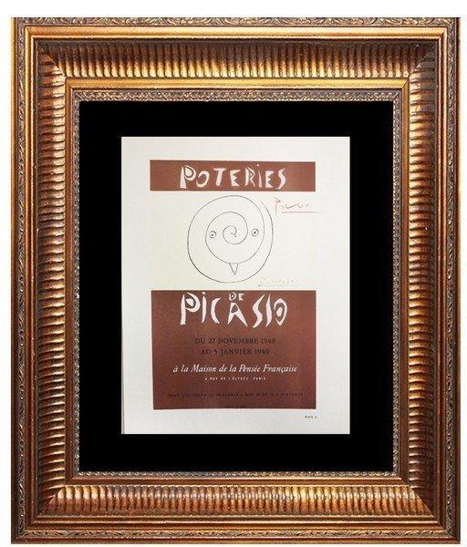 Poteries de Picasso - Poster Print