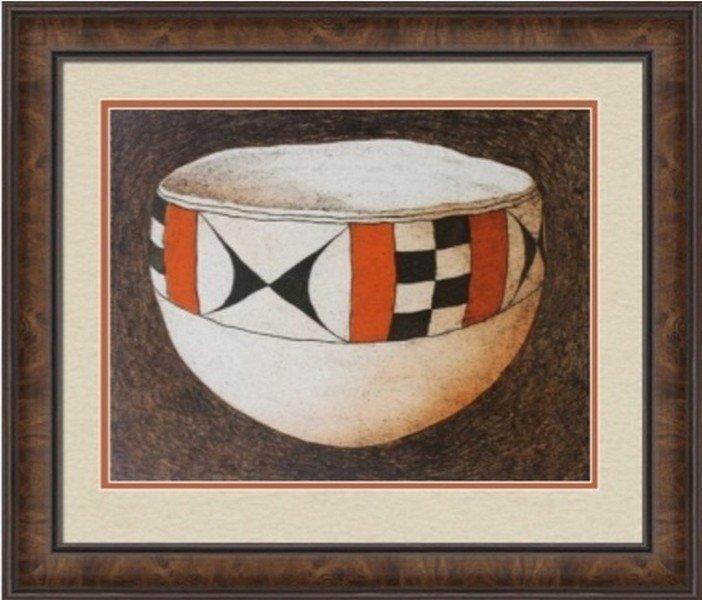 Acoma Pot by Lynn Elton Baker