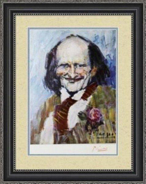 Portrait of Bibi la Puree - Pablo Picasso