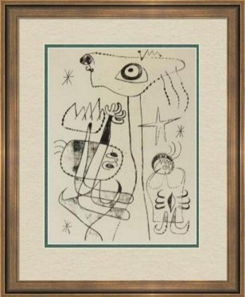Lithoghaph by Joan Miro