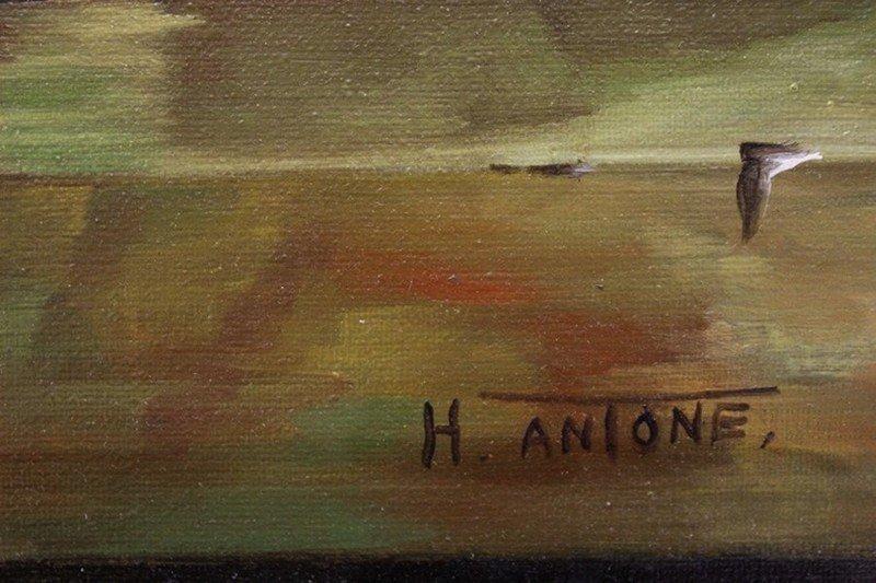 Original Painting by H. Antone - 2